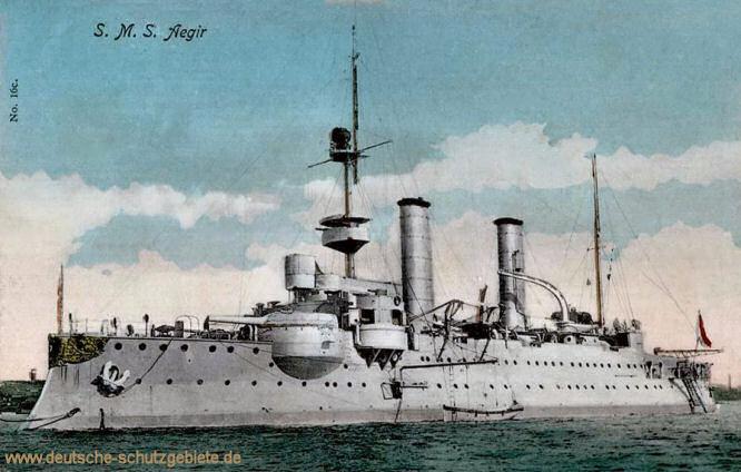 S.M.S. Aegir, Küstenpanzerschiff