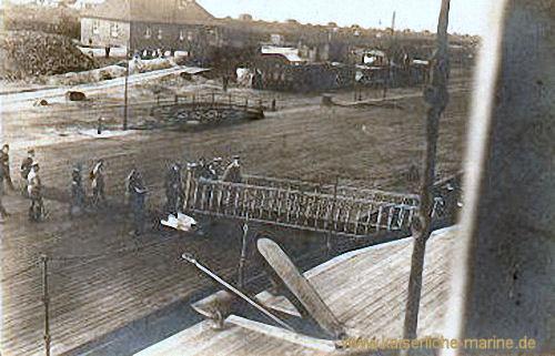 Zum Besuch Seiner Majestät des Königs von Bayern an Bord der SMS Bayern Juli 1916 in Wilhelmshaven