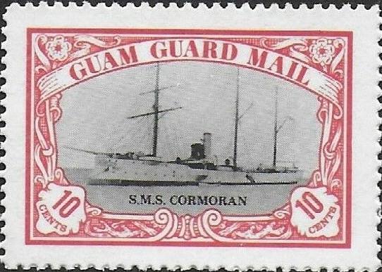S.M.S. Cormoran, Kleiner Kreuzer, Guam Guard Mail 1978