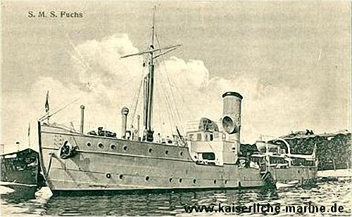 S.M.S. Fuchs, Tender