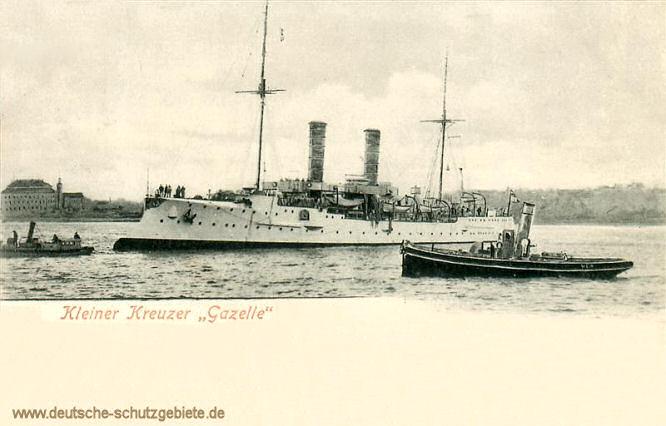 S.M.S. Gazelle, Kleiner Kreuzer