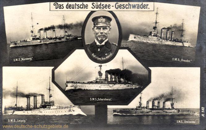 Das deutsche Südsee-Geschwader