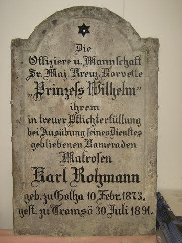 Matrose Karl Rohmann (Foto mit freundlicher Genehmigung von Leif Arneberg)