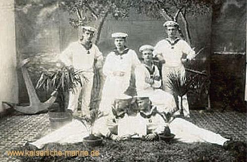 S.M.S. Hansa, Matrosen