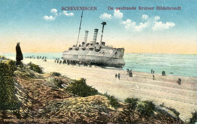 S.M.S. Hildebrand, der gestrandete Kreuzer