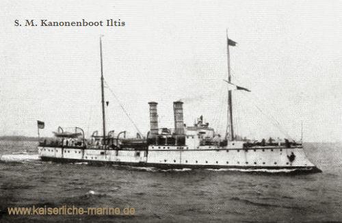 S.M.S. Iltis, Kanonenboot