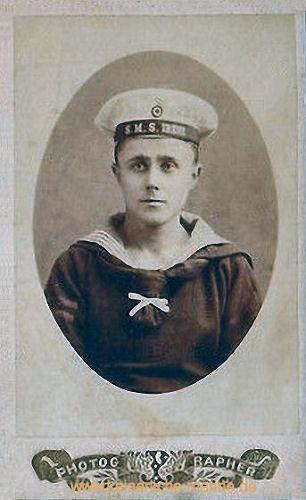 S.M.S. Irene, Besatzungsmitglied