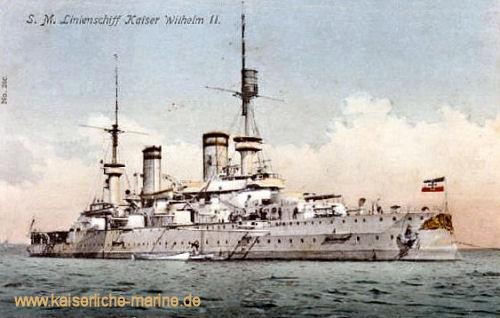 S.M.S. Kaiser Wilhelm II. - Linienschiff