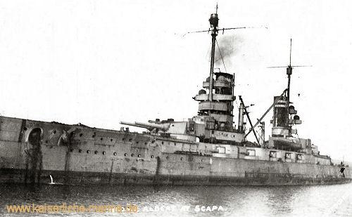 S.M.S. König Albert in Scapa Flow