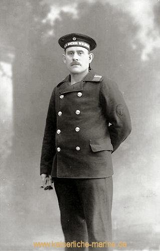 S.M.S. König Wilhelm, Besatzungsmitglied