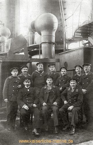 S.M.S. König Wilhelm, Flensburg Mürwick 3.12.1918