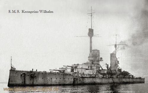 S.M.S. Kronprinz Wilhelm in Scapa Flow 1919