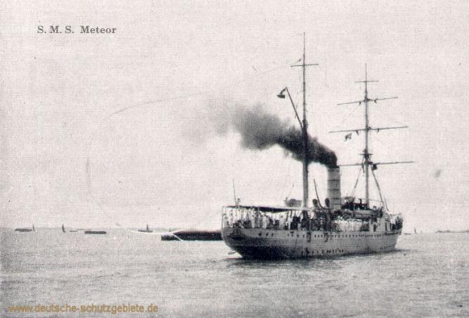 S.M.S. Meteor im Amazonas