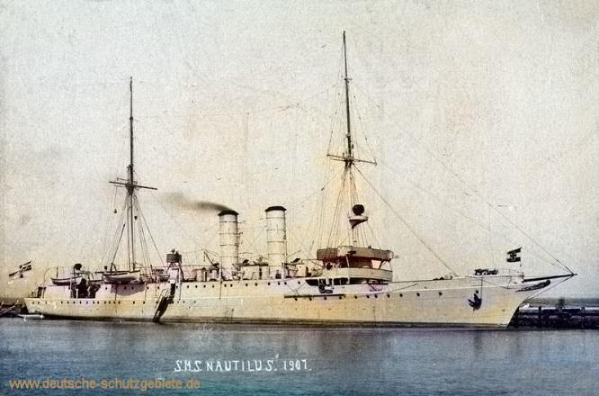 S.M.S. Nautilus, 1907