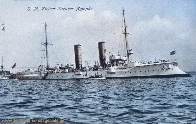 S.M.S. Nymphe, Kleiner Kreuzer