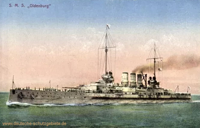 S.M.S. Oldenburg, Linienschiff