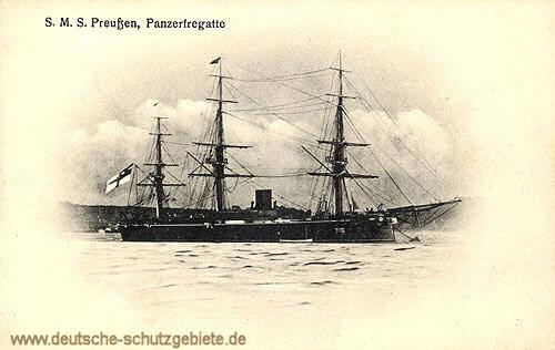 S.M.S. Preußen, Panzerfregatte