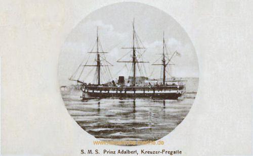 S.M.S. Prinz Adalbert, Kreuzerfregatte
