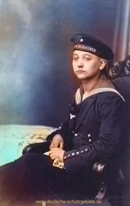 S.M.S. Schwaben, Besatzungsmitglied