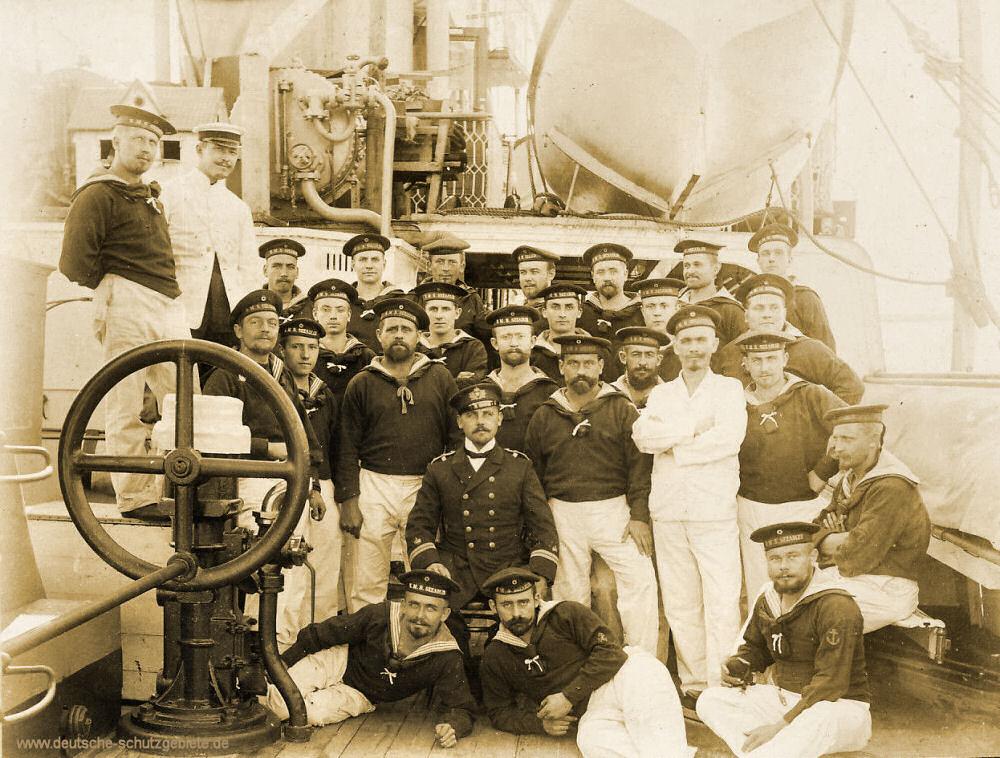 S.M.S. Seeadler, Mannschaft
