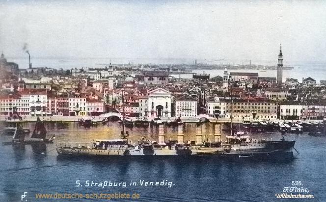 S.M.S. Strassburg in Venedig