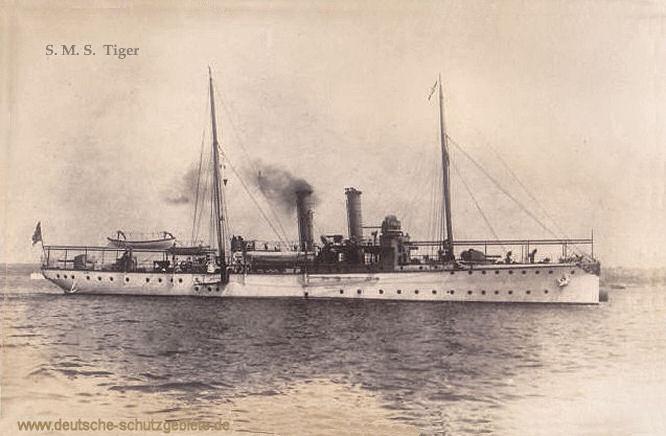 S.M.S. Tiger, Kanonenboot