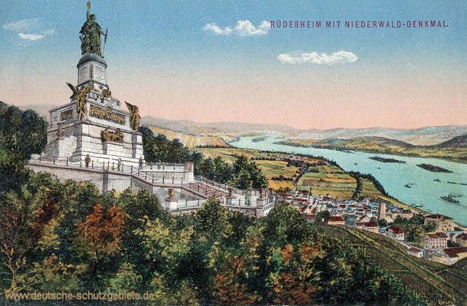 Rüdesheim mit Niederwald-Denkmal