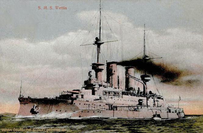 S.M.S. Wettin, Linienschiff