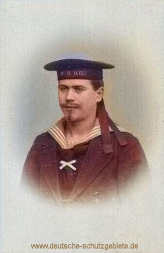 S.M.S. Wolf, Besatzungsmitglied
