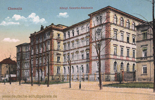Chemnitz, Königliche Gewerbe-Akademie
