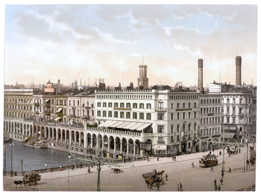 Hamburg Arkaden & Hotel St. Petersburg