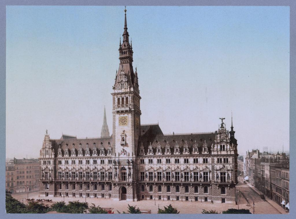Hamburg Das Rathaus