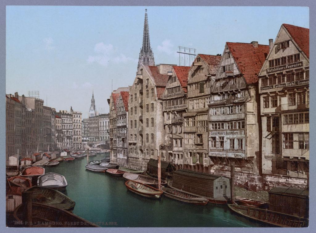 Hamburg Fleet Deichstrasse