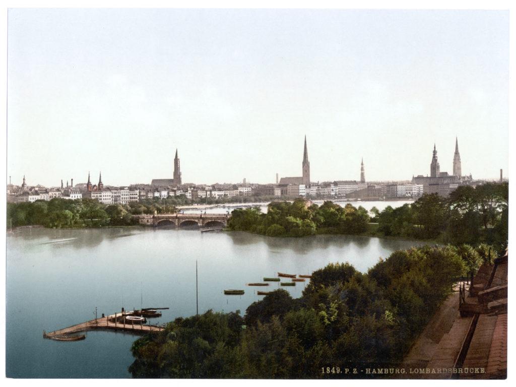 Hamburg Lombardsbrücke