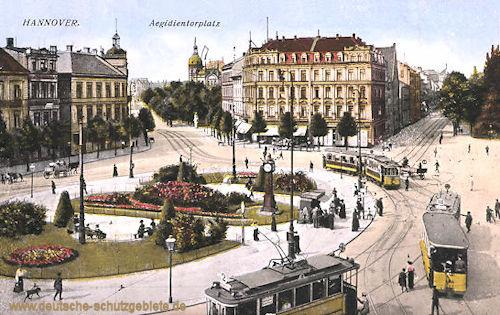 Hannover, Aegidientorplatz