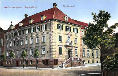 Kaiserslautern, Bezirksamt