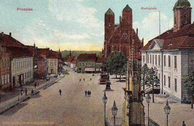 Prenzlau, Marktplatz