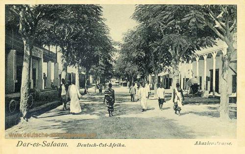 Deutsch-Ost-Afrika, Dar-es-Salaam, Akazienstraße
