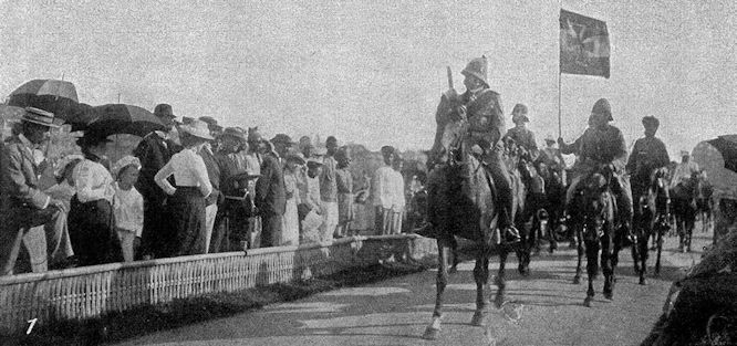 Feldmarschall Graf Waldersee in Schanghai am 22. September 1900.