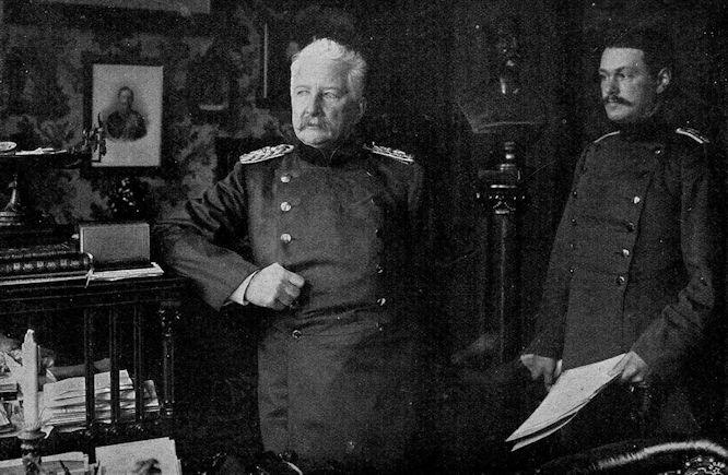 Zum 50jährigen Militärjubileum des Grafen Waldersee am 27. April: Generaloberst Graf Waldersee in seinem Heim in Hannover.