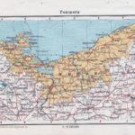 Landkarte Pommern