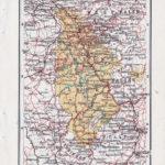 Landkarte Rheinland