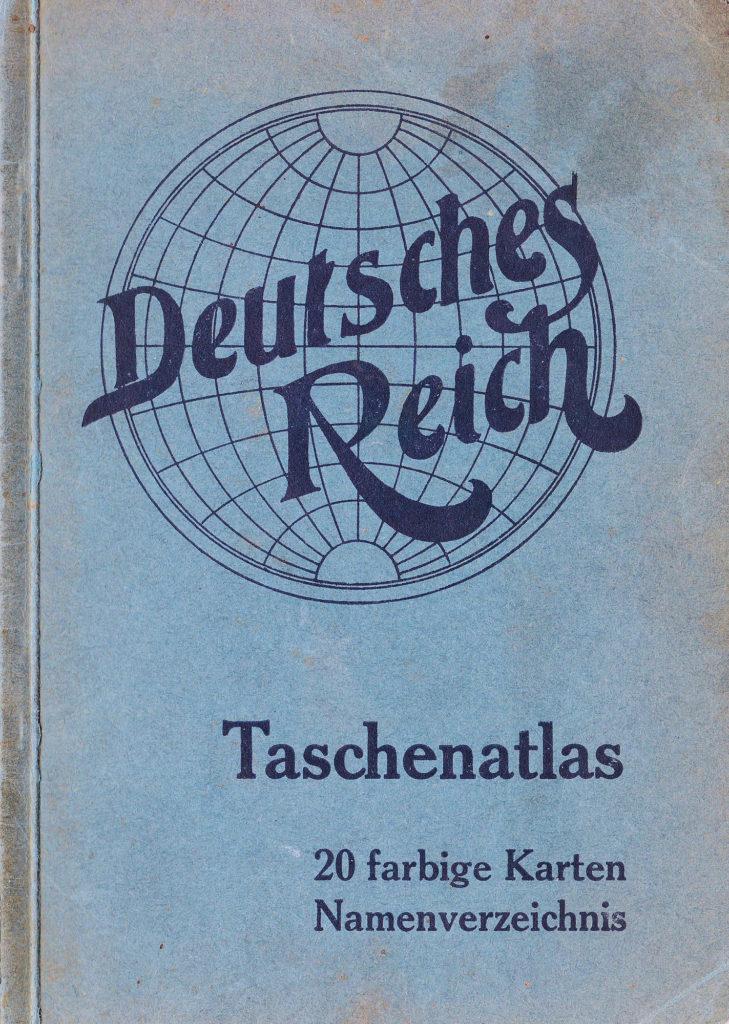 Taschenatlas Deutsches Reich