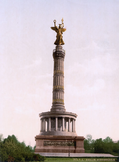 Berlin, Siegessäule auf dem Königsplatz
