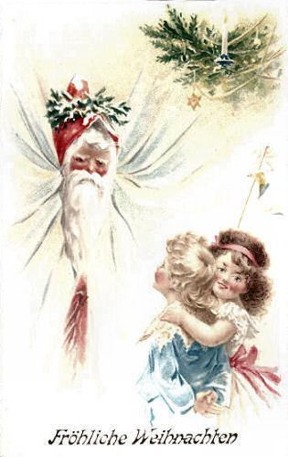 Fröhliche Weihnachten mit dem Weihnachtsmann
