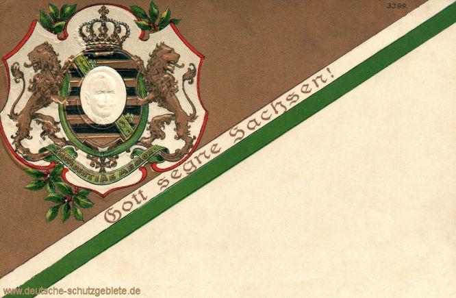 Gott segne Sachsen!