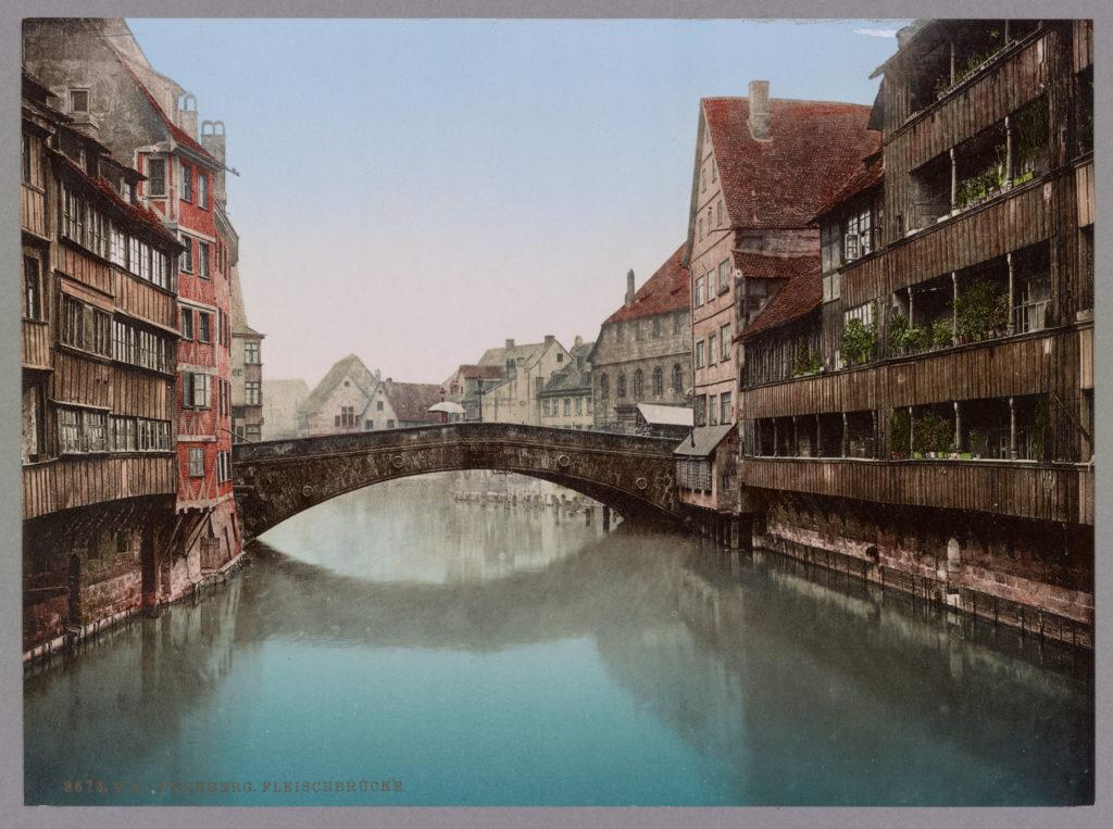 Nürnberg. Fleischbrücke