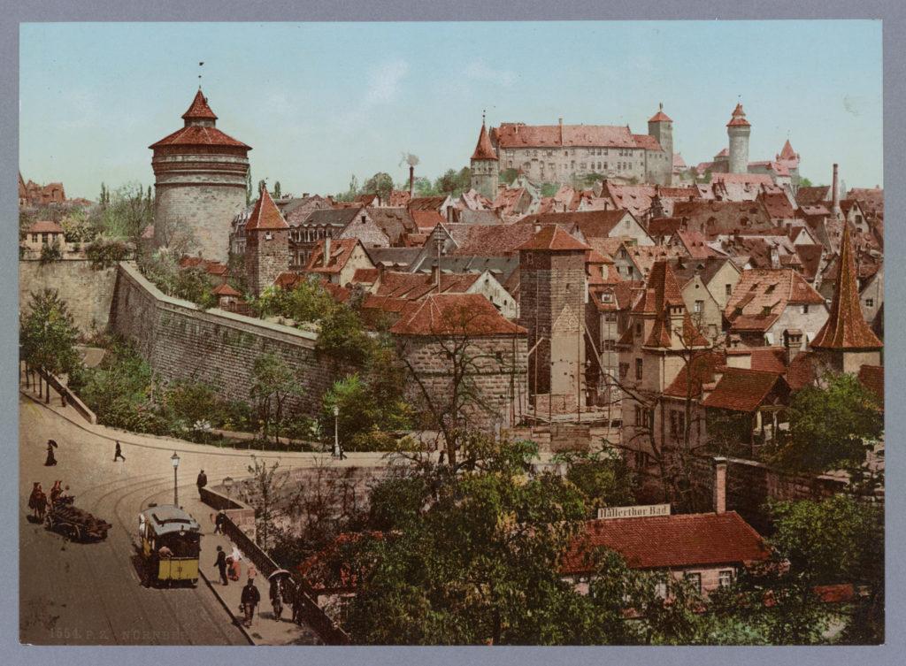Nürnberg. Hallerthor