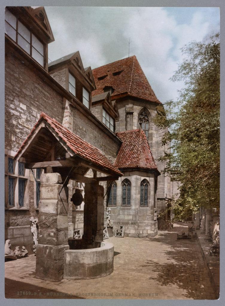 Nürnberg. Klosterhof im Germanischen Museum