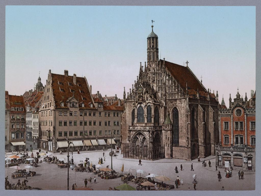 Nürnberg. Marktplatz